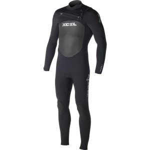 3/2 Revolt X2 Full Wetsuit - Men's Black, MS - Good