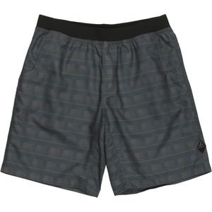 Mojo Short - Men's Grey Blue Plaid, XL - Excellent