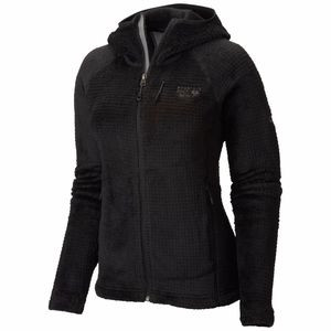 Monkey Woman Grid II Hooded Fleece Jacket - Women's Black, M - Good