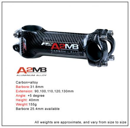 PZ Racing A2MB Carbon Alloy MTB Stem - 120mm