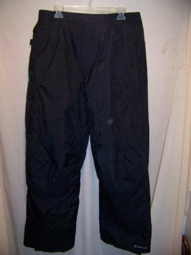 Black Dot Snowboard Ski Pants, Mens Large
