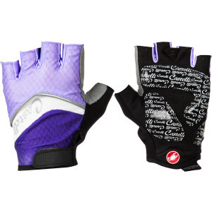 Elite Gel Glove - Women's Violet/White/Lilac, L - Excellent