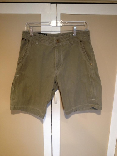 Kuhl Shorts Dark Green SZ 30 waist in EUC