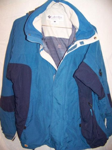 Columbia Waterproof Snowboard Ski Jacket, Men's Large