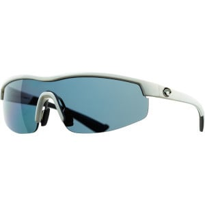 Straits Polarized Sunglasses - Costa 580 Polycarbonate Lens White/Gray