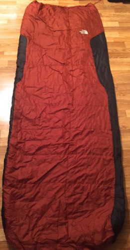 North Face Dolomite 2S Sleeping Bag 40F/4C  Long/Right - NEW