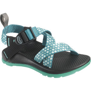 Z/1 EcoTread Sandal - Girls' Teal Beams, 3.0 - Excellent