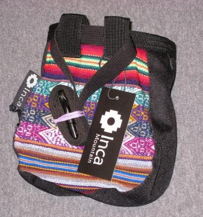 Andean Chalk Bag with Belt