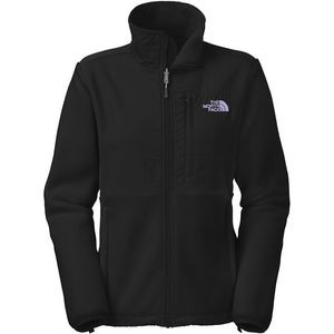Denali Fleece Jacket - Women's Recycled Tnf Black/Lavender Logo, S - E