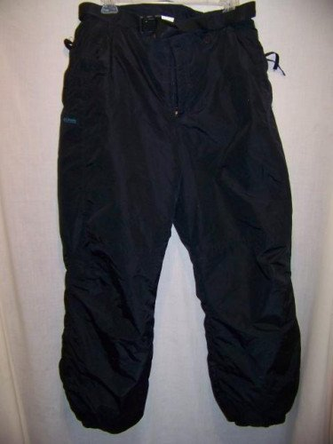 Columbia Insulated Snowboard Ski Pants, Mens Med