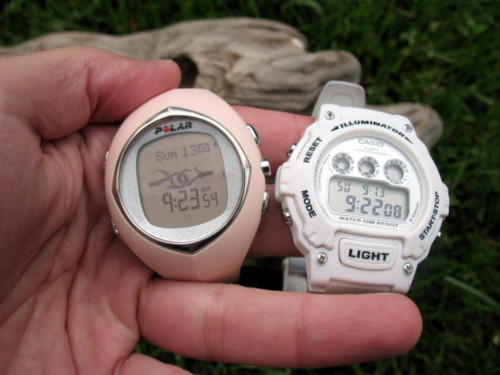 Polar and Casio watches