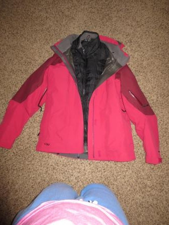 Gortex OR jacket with insulator jacket
