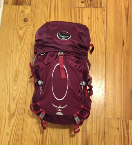 Osprey Aura 50 Backpack, Small, Purple