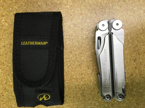 Leatherman Wave Stainless Steel + Nylon Sheath - New in Box