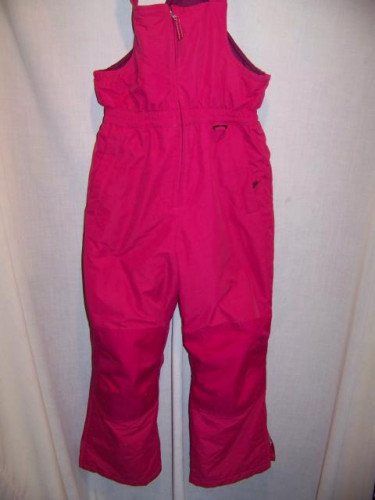 Lands End Insulated Snowboard Ski Bibs, Girls 10