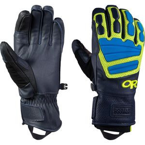 Mute Sensor Gloves - Men's Night/Lemongrass/Hydro, M - Like New