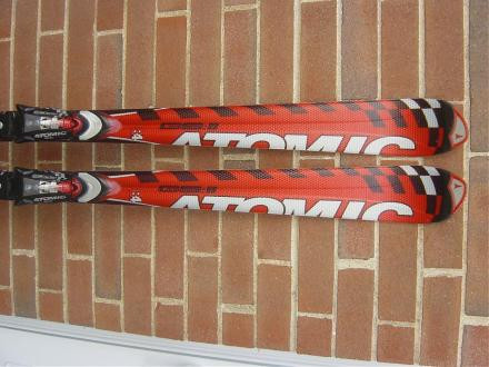 "Limited production Atomic ""GSX"" GS11 Race Skis with Atomic R"