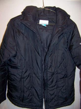 Columbia Hooded Poly Insulated Jacket Coat, WM XL