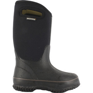 Classic Solid Boot - Boys' Black, 5.0 - Excellent
