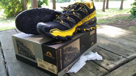 La Sportiva  - Raptor, Black/Yellow #499BL