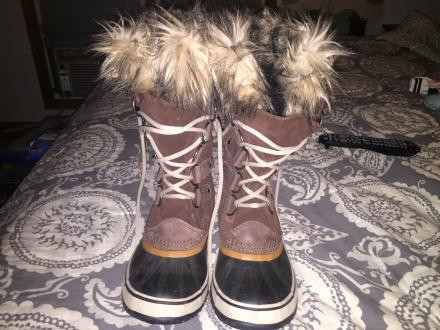 Womens Sorel Joan of Arctic Boots Size 10