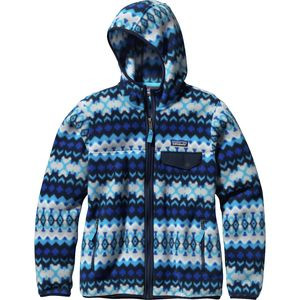 Lightweight Snap-T Fleece Hooded Jacket - Women's Cliff/Electron Blue,