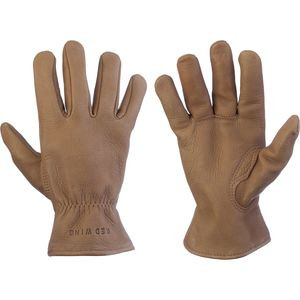 Buckskin Leather Gloves Nutmeg, S - Like New