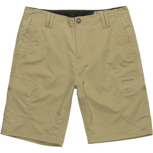 Cantel Cargo Hybrid Short - Men's Dark Khaki, 32 - Excellent
