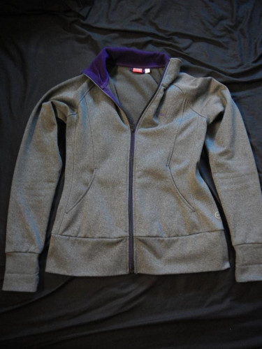 Puma Fleece Zip-Up Jacket Size S