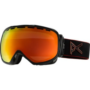 Insurgent Goggle Black Emblem/Red Solex, One Size - Good