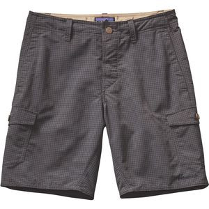 Wavefarer 20in Cargo Short - Men's Grid Man/Forge Grey, 36 - Excellent