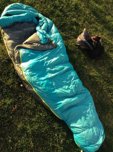 Marmot | Women's Teton | Down Sleeping Bag | 15F | Long