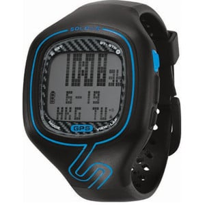 GPS Vibe Watch Black/Blue, One Size - Excellent