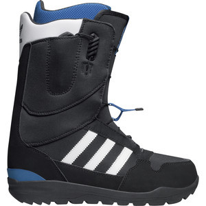 ZX 500 Snowboard Boot - Men's Black/Running White/Bluebird, 8.5 - Fair