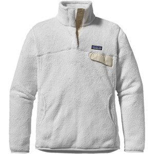 Re-Tool Snap-T Fleece Pullover - Women's Raw Linen/White X-dye, S - Ex