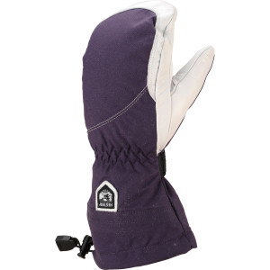 Heli Mitten - Women's Plum/Off White, 6 - Excellent