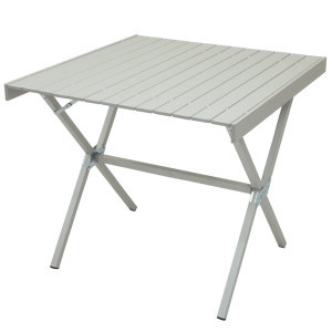Square Dining Table Anodized Aluminum, One Size -