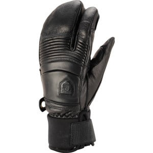 Fall Line 3-Finger Glove Black, 8 - Like New