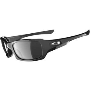 Fives Squared Polarized Sunglasses Polished Black/Black Iridium Polari