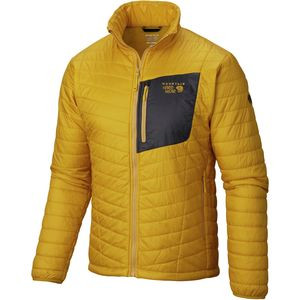Thermostatic Insulated Jacket - Men's Inca Gold, L - Like New