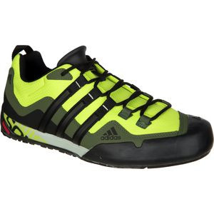 Terrex Swift Solo Approach Shoe - Men's Semi Solar Yellow/Black/Base G