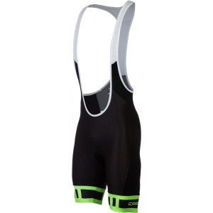 Monviso Bib Shorts Black/Green, L - Excellent