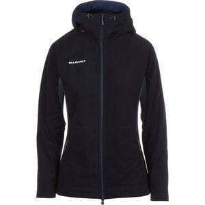 Niva Hooded Fleece Midlayer Jacket - Women's Dark Space Melange, XS -