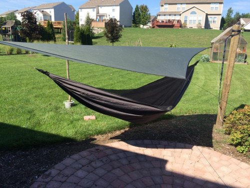 Hennessy Ultra Light Bottom Entry Single Layer Hammock