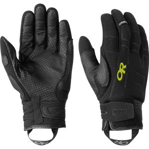 Alibi II Glove Black/Lemongrass, S - Excellent