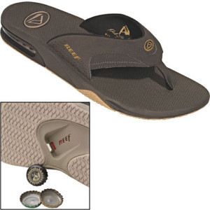 Fanning Flip Flop - Men's Brown/Gum, 9.0 - Excellent