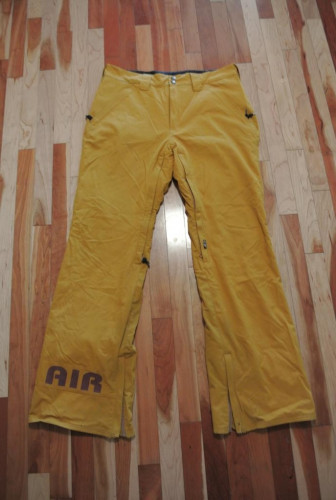 Airblaster Freedom Boot Snowboard Pant- Sz Large- Inca Gold Color