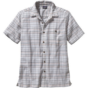 A/C Shirt - Short Sleeve - Men's Fallow/Birch White, M - Excellent