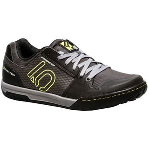 Freerider Contact Shoe - Men's Black/Lime Punch, 9.0 - Good