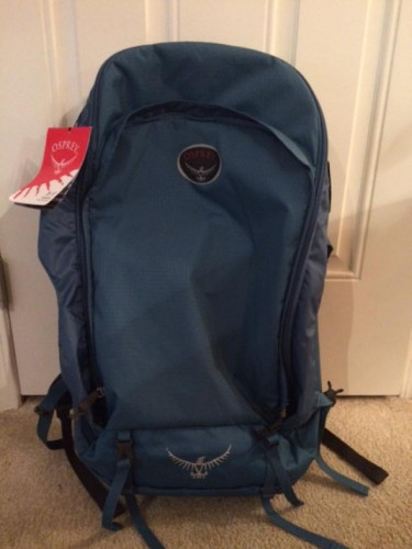 Osprey Farpoint 55L Travel Pack S/M UNUSED